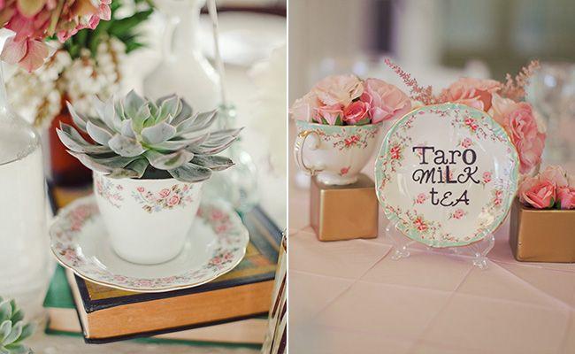 Tea Party Inspired Wedding Ideas We Love