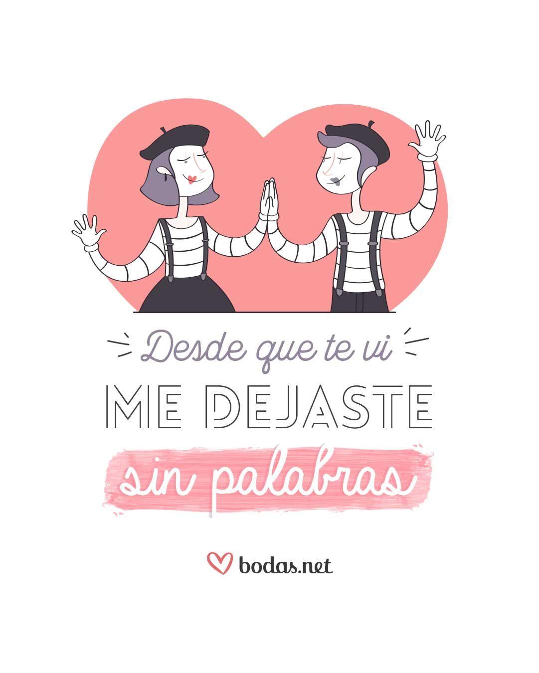 Frases románticas #bodas #bodasnet #wedding #matrimonio #frases #romantic  #quotes #brideandgroom #love | Phrase, Amor, Wedding couples