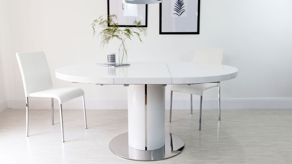 Round Dining Table White Dining Tables But Also White Round