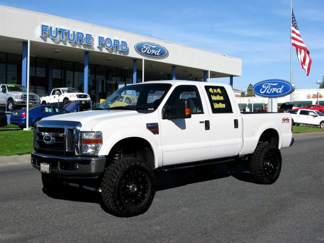Ford Lifted Truck White Super Duty Trucks Ford Trucks Lifted