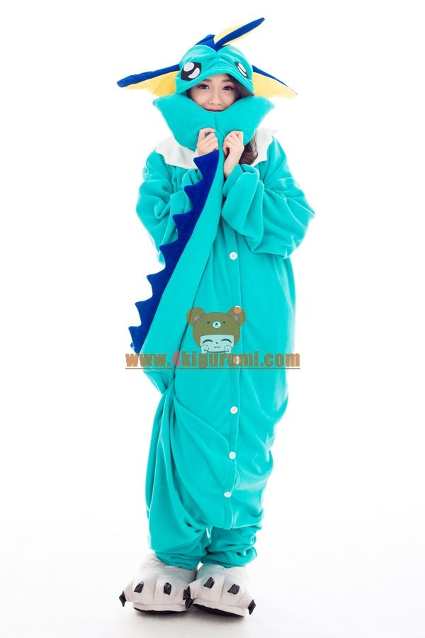 e86417759fb Vaporeon Kigurumi Pokemon Costumes