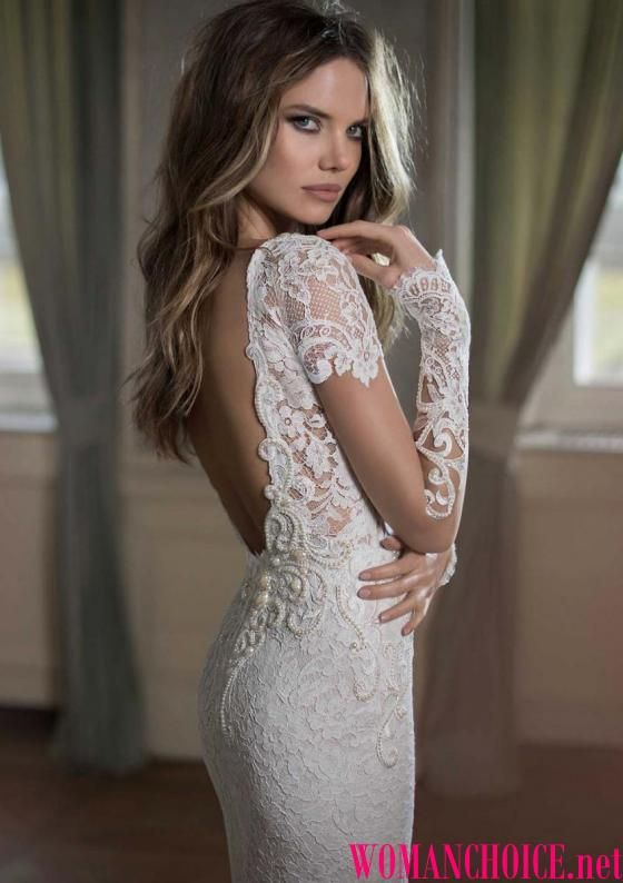 Photo of Dresses with an open back – 175 photos of evening dresses, …