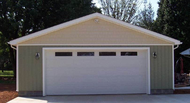 Best Vertical Siding And Gable Detail On Garage Vertical 400 x 300