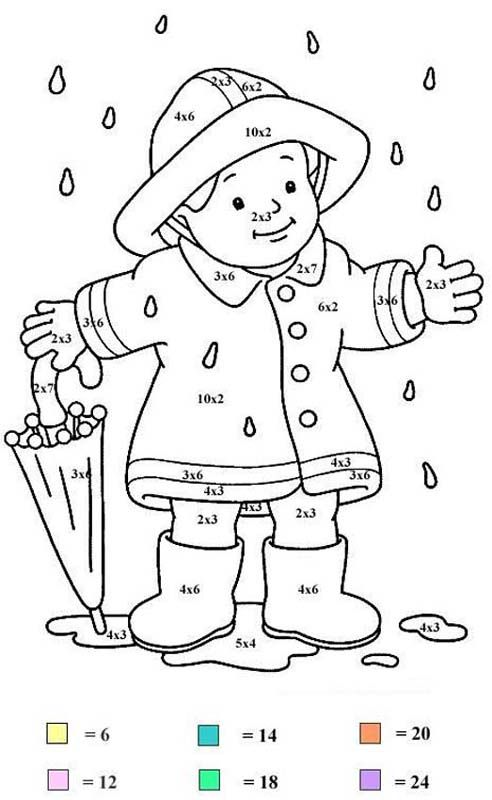 Color by Number Coloring Pages | Fun with Kids | Pinterest | Number ...