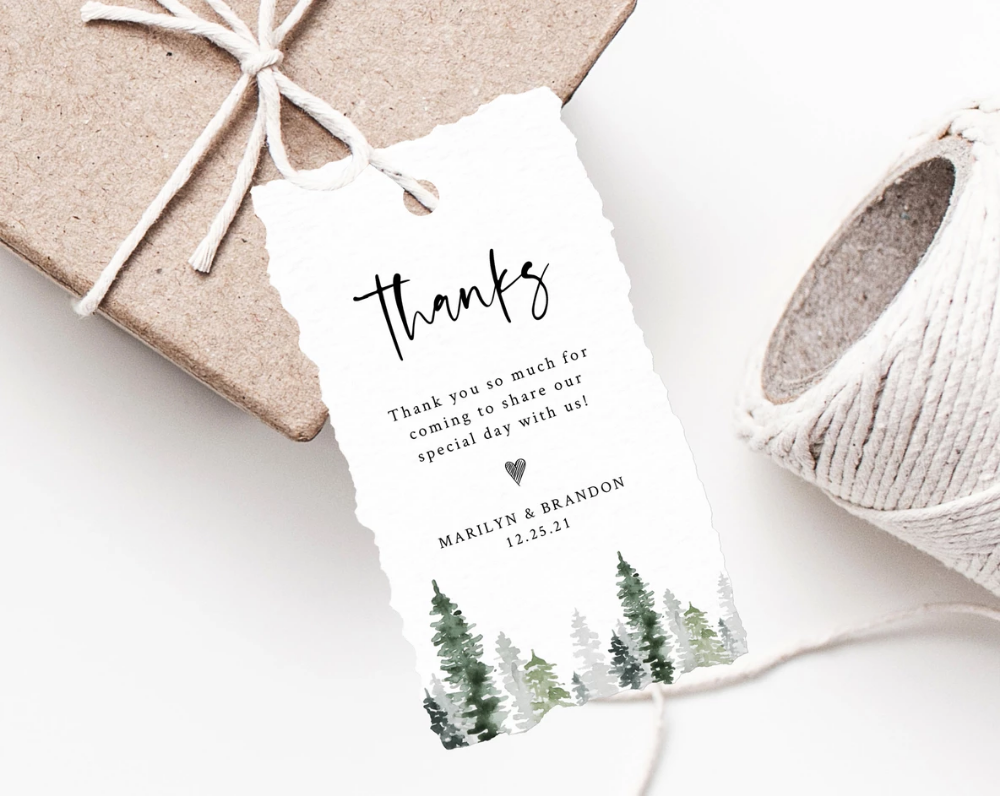 Round Gift Tag Printable Instant Download Round Wedding Favor Tag Template Garden Greenery Fully Editable Templett