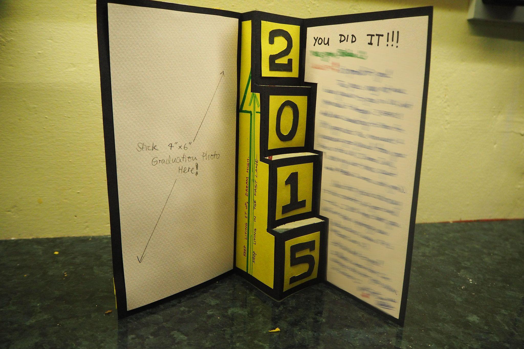 Diy graduation card ideas graduation diy diy graduation