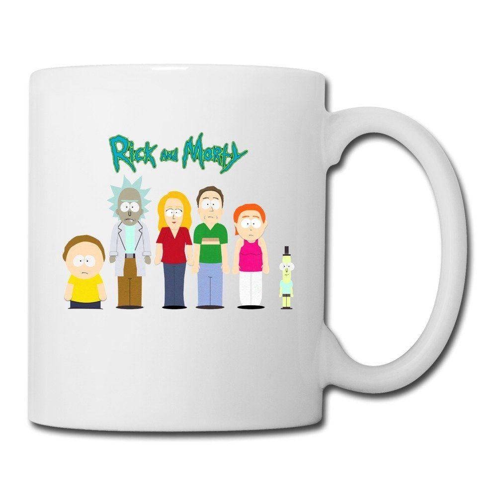 Cool rick and morty ceramic coffee mug tea cup best