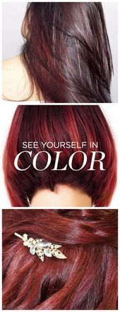 Forget about drugstore hair color Made For You custom color by eSal