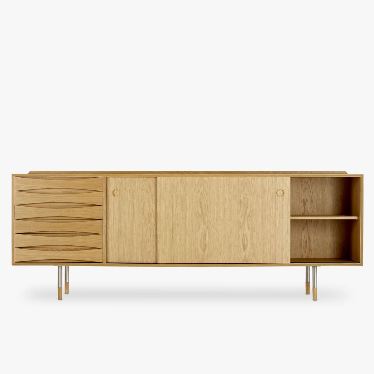 Arne Vodder Sideboard Av01 Oak Sideboard Home Furniture Danish