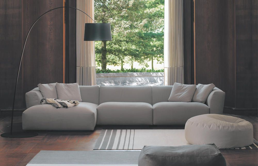 Modernes Sofa In Grau