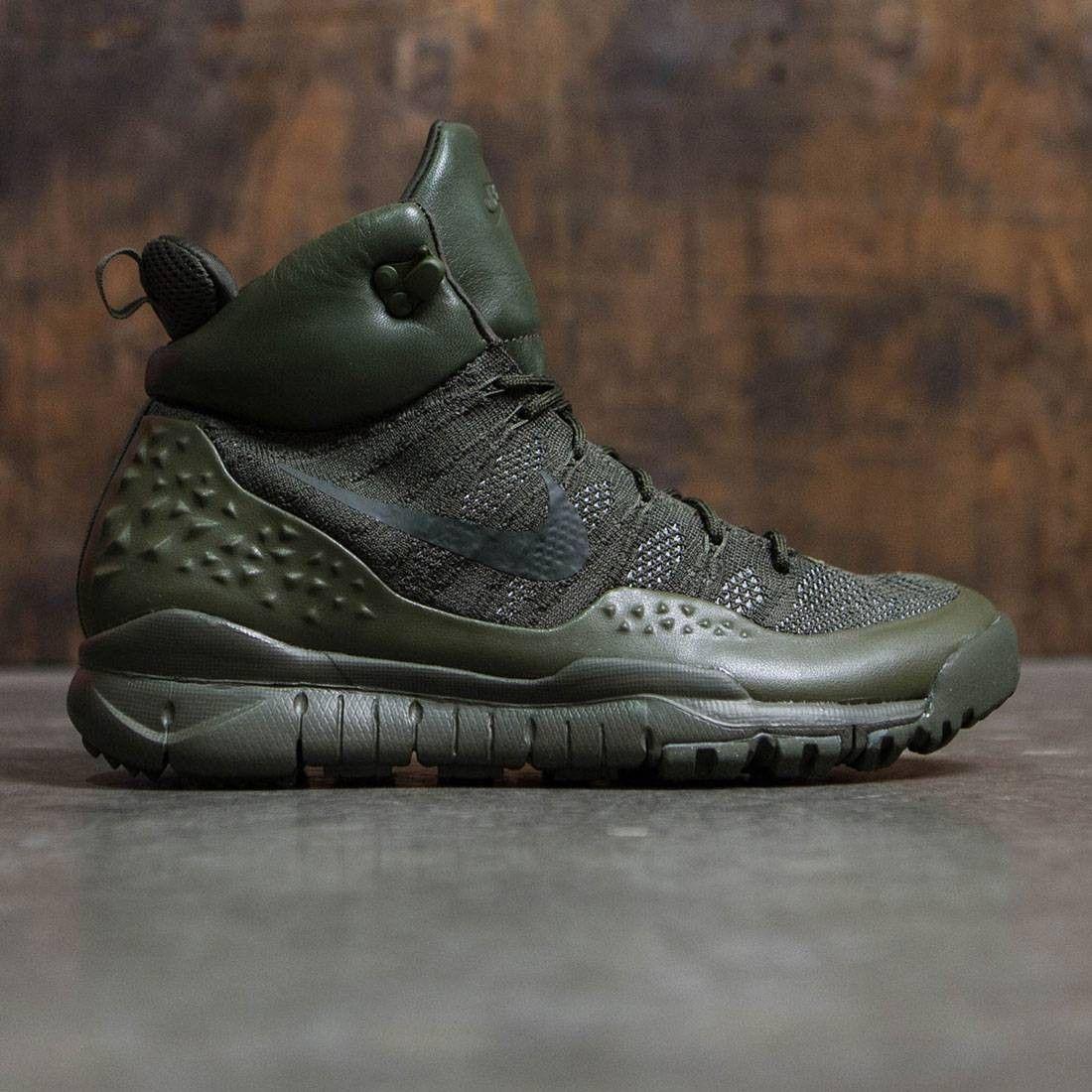 ba7d8699d1f Nike Men Lupinek Flyknit (cargo khaki / sequoia) in 2019 | Nike ...