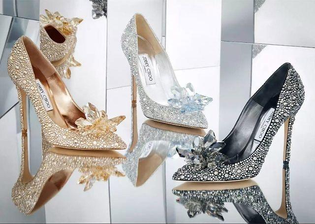 4410c61bf751 All That Glitters  Jimmy Choo Unveils  Cinderella  Styles (Fashion ...