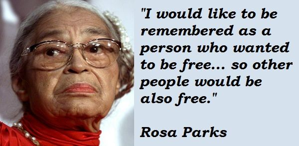 Pin by Jennifer Allen on Quotes/Sayings ♥ | Quotes, Rosa parks