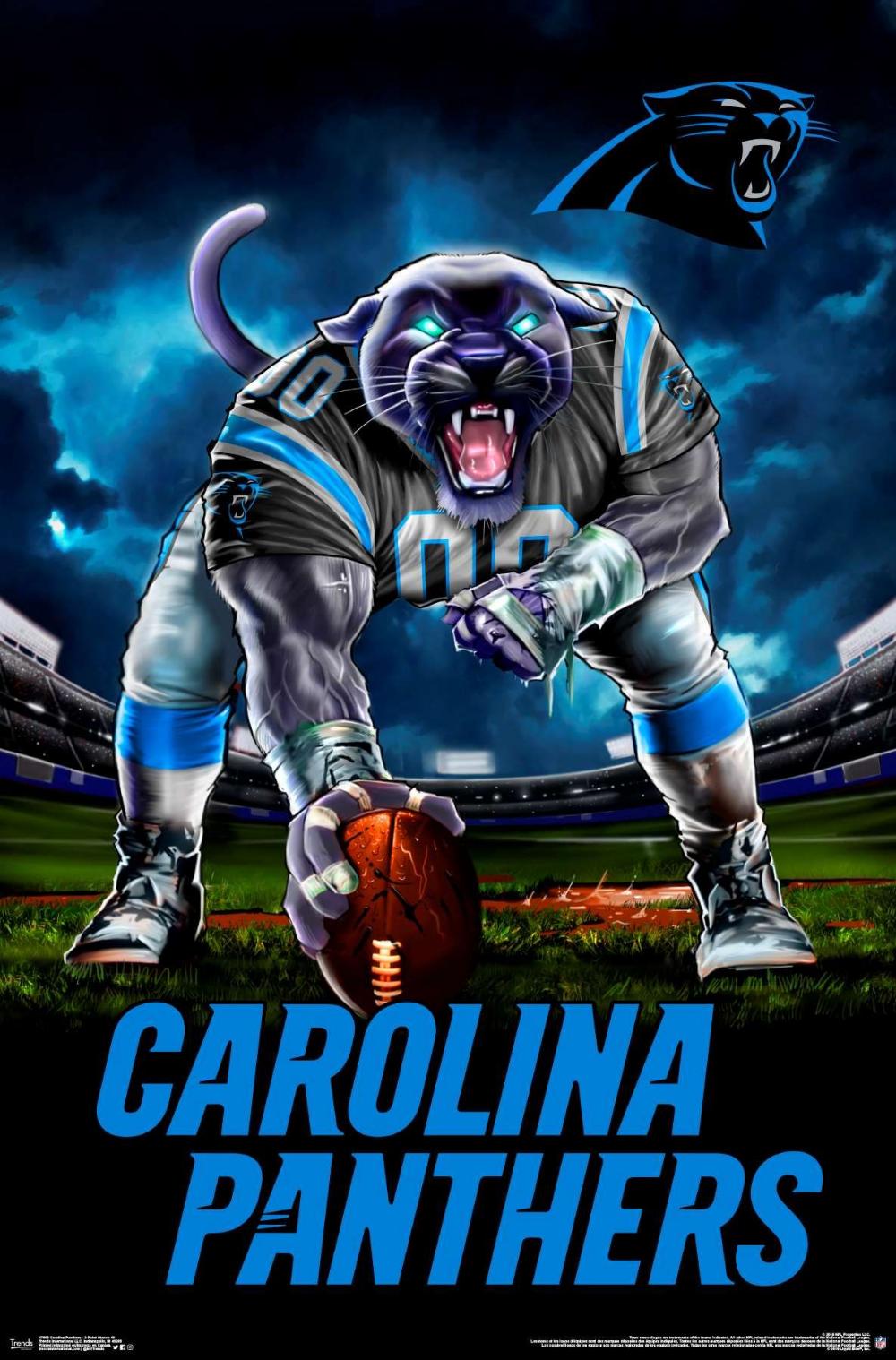 Nfl Carolina Panthers 3 Point Stance 19 Carolina Panthers Football Nfl Carolina Panthers Nfl Football Art