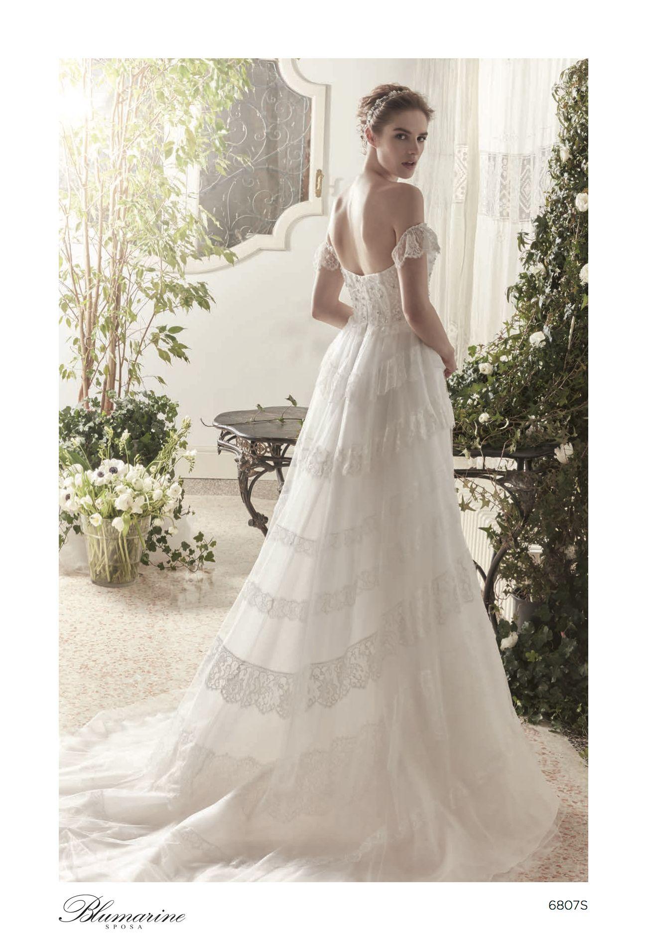 watch cb951 9f75a Blumarine abiti da sposa 2019 nel 2019 | Abiti da sposa ...