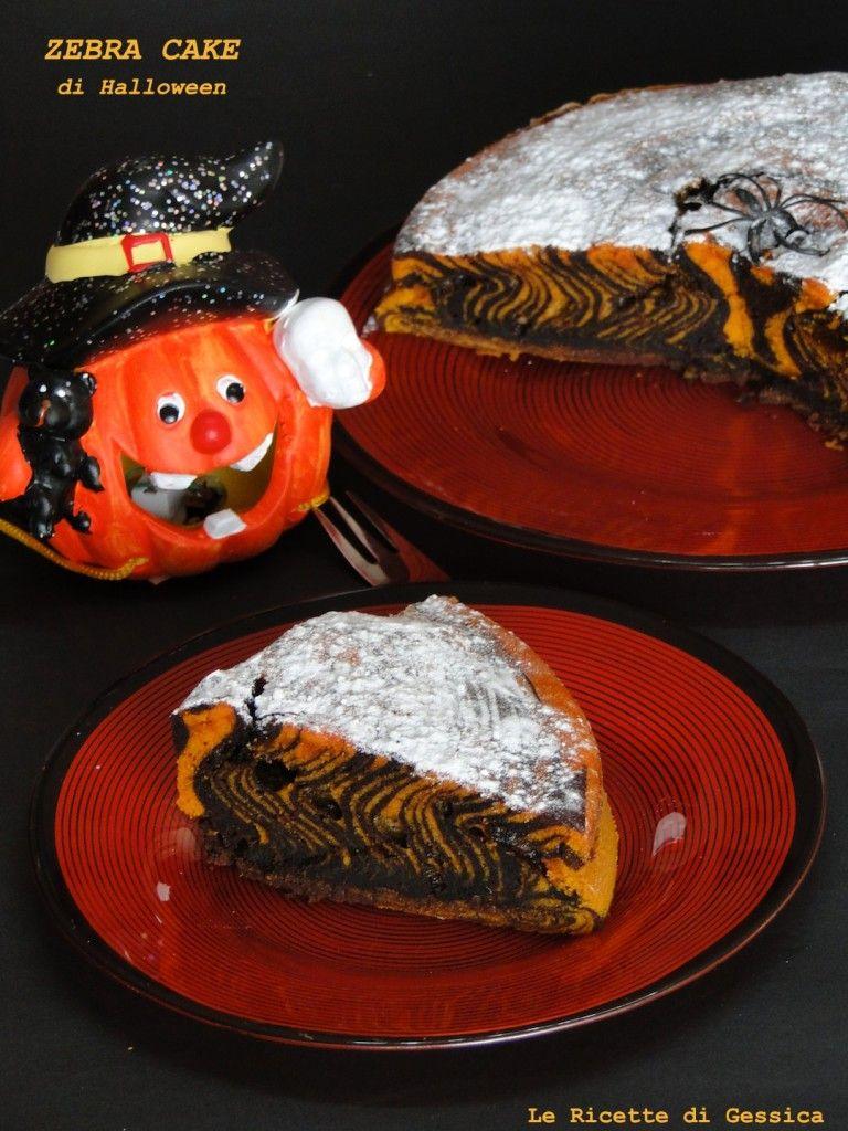 ZEBRA CAKE HALLOWEEN BIMBY Torte, Ricette