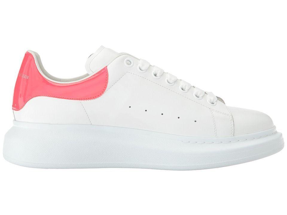 e1d17b5080a Alexander McQueen Simple Double Sole Sneaker Men s Shoes White Coral ...