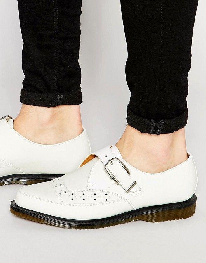 Dr Martens Rousden Monk Strap Creeper Shoes | Mens monk
