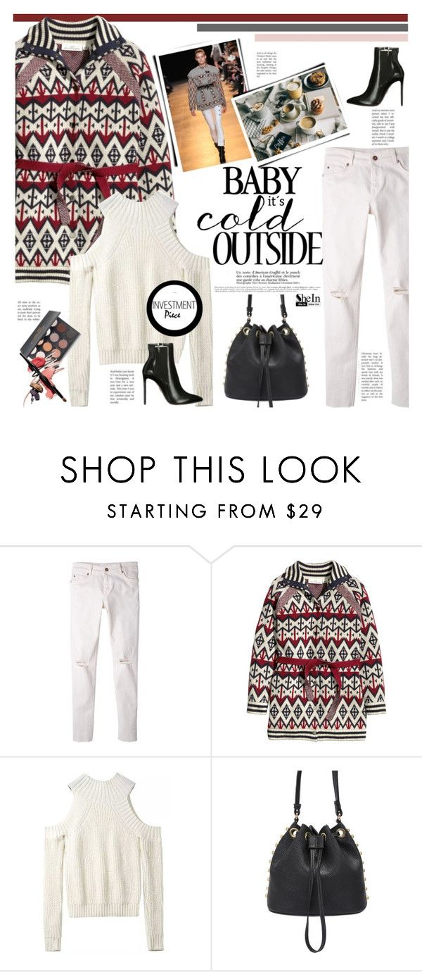 """""""Don't look back you are not going that way"""" by naki14 ❤ liked on Polyvore featuring MANGO, H&M, Isabel Marant, Shany, Sheinside and shein"""