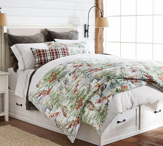 Stratton Storage Bed With Drawers Full Queen Pure White