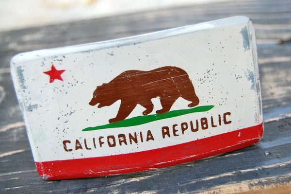 Did You Know The Original California State Flag Was Supposed To Feature A Pear Happy Accident Cool Belt Buckle From Fosterweld