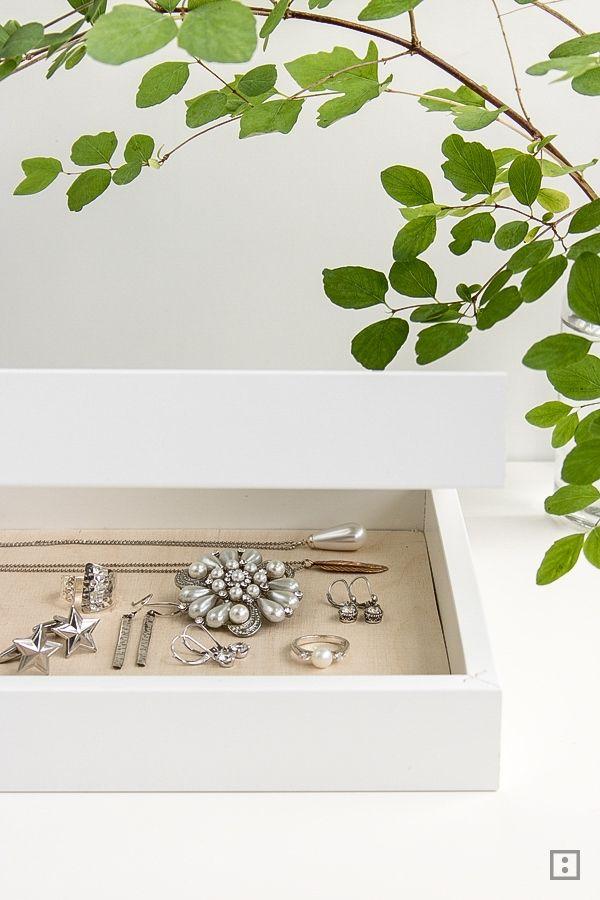 Schmuckkasten - Bilderrahmen | Pinterest | Ikea ribba, Ikea und ...