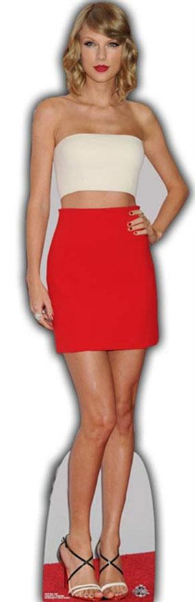 Taylor Swift Lifesize Cardboard Cutout Standee Standup Taylor Swift Cardboard Cutout Taylor Swift Birthday