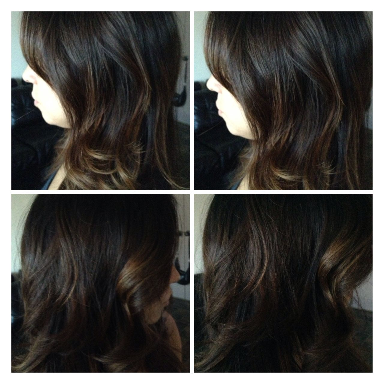 Very Dark Base Balayge If Your Client Insists On Keeping Or Making Her Base Dark Please Adjust The Balayage Color Accordingly It S Balayage Color Long Hair Styles Hair Styles