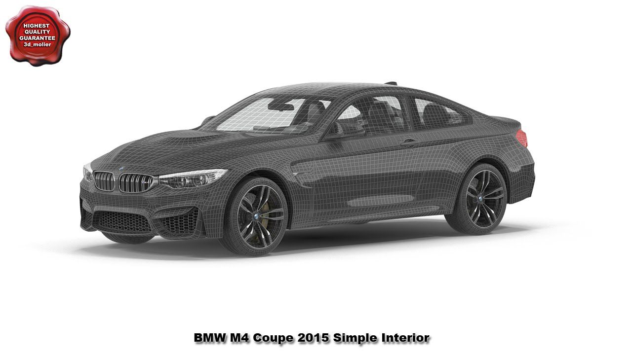 3d model of BMW M4 Coupe 2015 by 3d_molier International