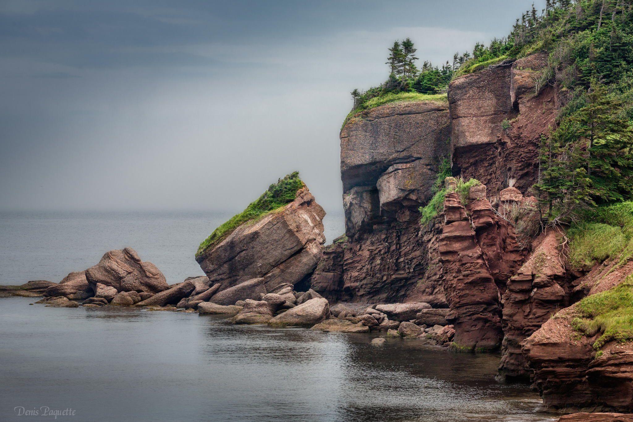 """Rocher de l'indien """"Gaspésie"""" by Denis Paquette on 500px"""