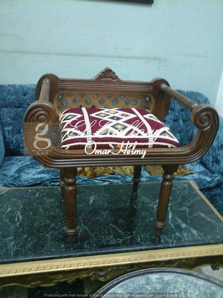 كرسي كلاسيك ستايل عربي خشب زان احمر الدهان استر مط قماش عربي متاح الان للطلب فقط في الجاليري Check Now Our New Arabian Style Home Decor Furniture Decor
