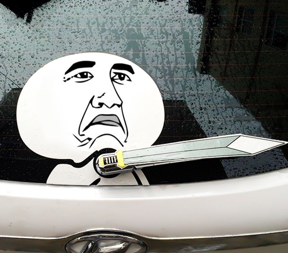 11 11 Celebrity Rage Comic Funny Comic Fashion Car Decal Rear Window Sticker Rage Comics Funny Funny Comics Window Stickers [ 877 x 1000 Pixel ]