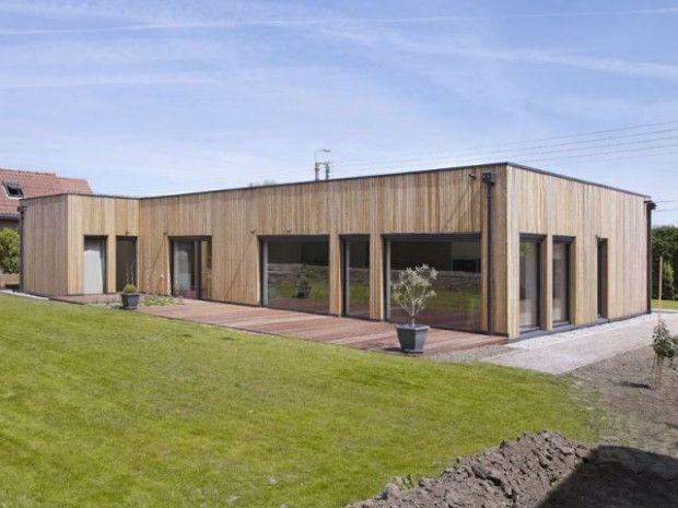 Une maison passive à moins de 1800 euros le m2 (diaporama) Maison