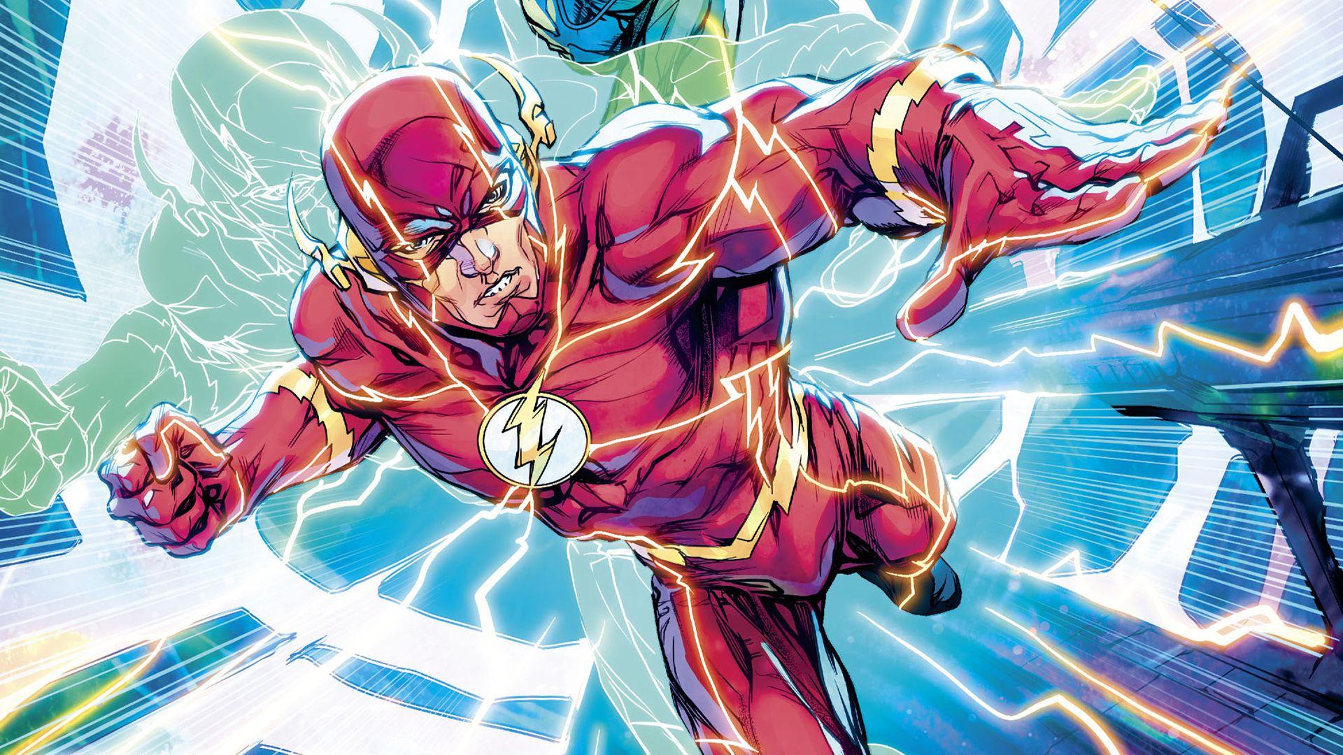 Comics Flash Dc Comics Barry Allen Justice League Hd Wallpaper
