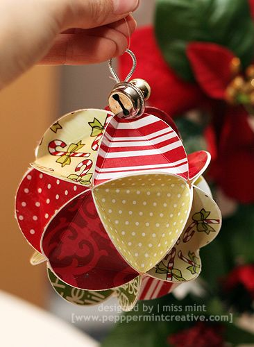 Cool Paper Ornament Templates Paper Christmas Ornaments Paper