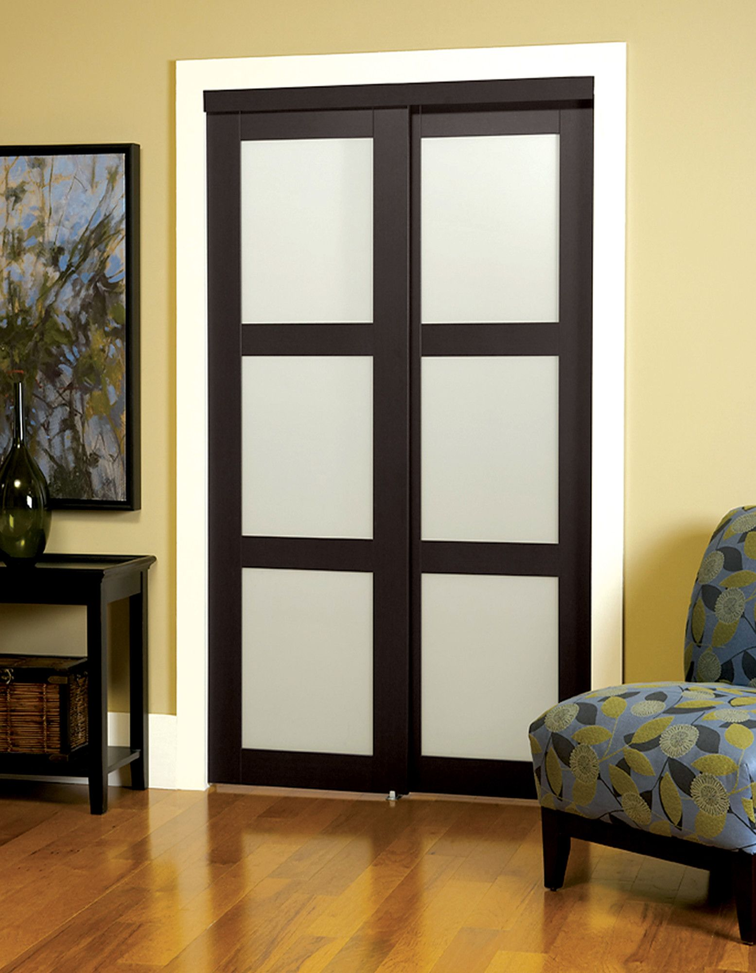 Baldarassario MDF 2 Panel Painted Sliding Interior Door | Sliding ...