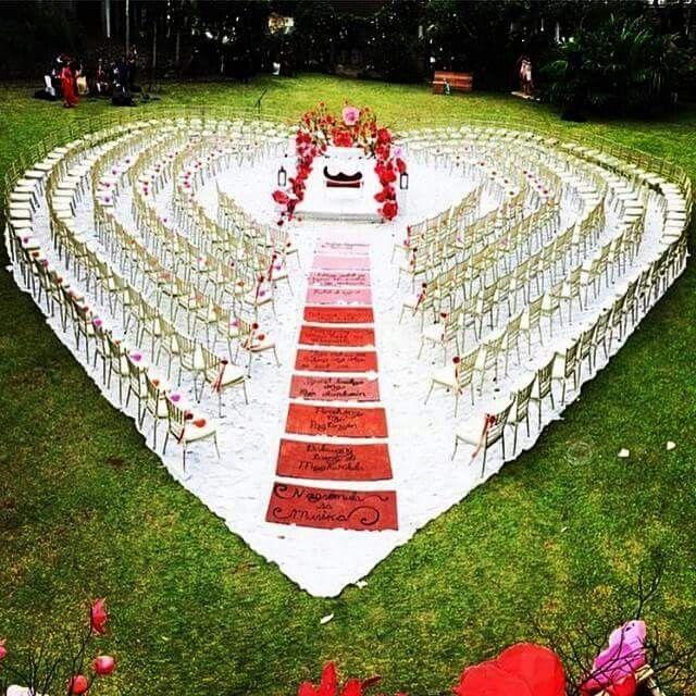 Stylish Wedding Ceremony Decor: Unique Event Decor, Ceremony Decorations