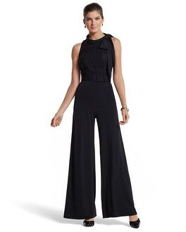 Black Dressy Jumpsuit Photo Album - Reikian