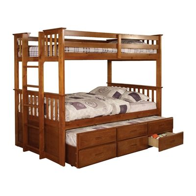 Furniture Of America University Bunk Bed It Says Trundle Not