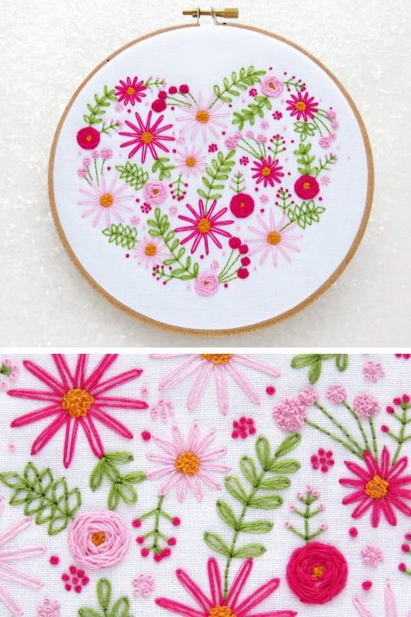 These Summery Stamped Embroidery Kits Will Have You Buzzing To Start