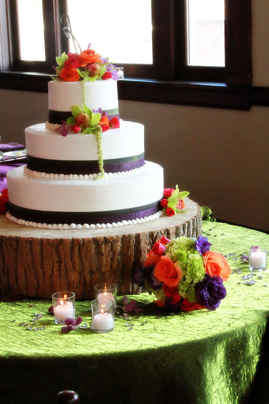 Colorful rustic cake weddings pinterest rustic cake wedding