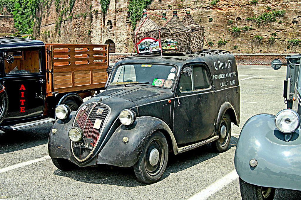 "fiat 500-b ""topolino"" furgoncino (1948-1949) | fiat 500"