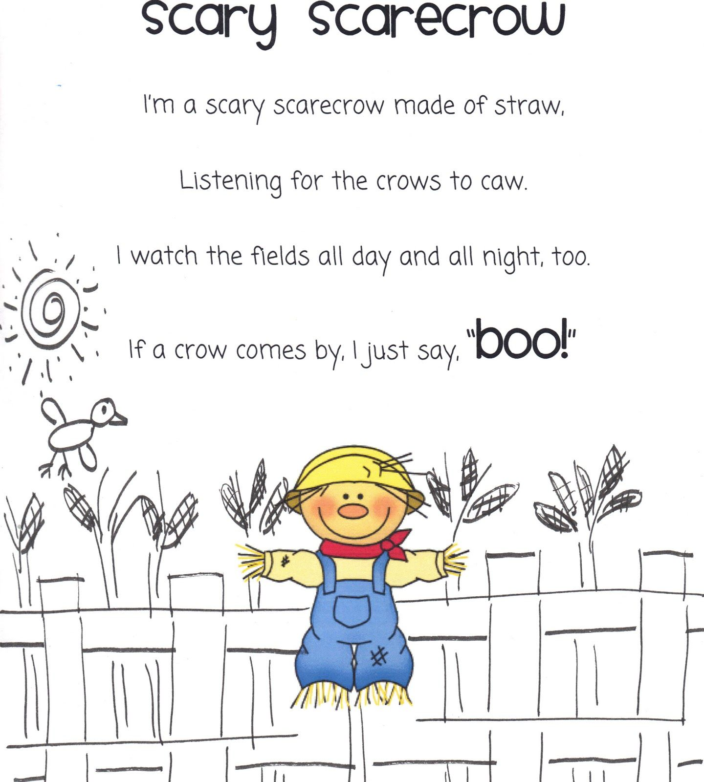 Worksheet Kindergarten Short Stories 17 best images about fall poetry for kids on pinterest the very songs and journal