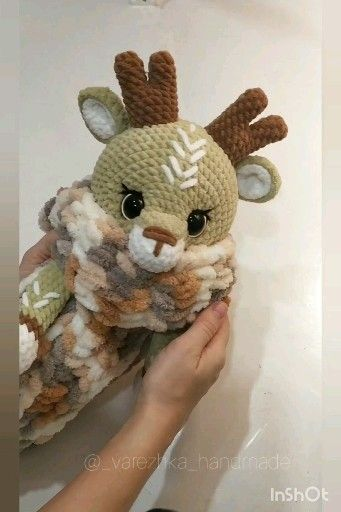 Crochet reindee PATTERN Amigurumi reindeer tutorial, BIG deer, Toy 20 inch, Lovey animals pattern