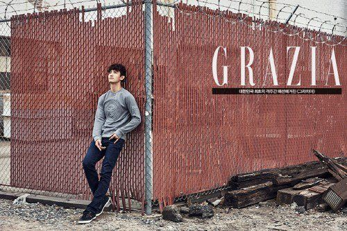 Get one last good look at Changmin in 'Grazia' before he enlists in the army | allkpop.com