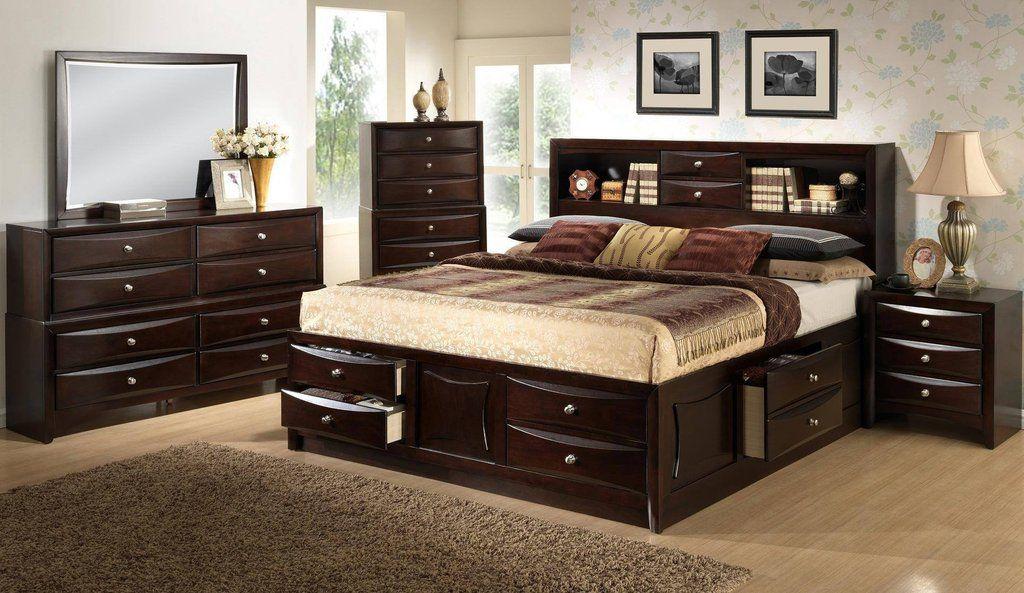 Lifestyle B0172 Extra Storage King Bedroom Set - Bedroom - Triad ...
