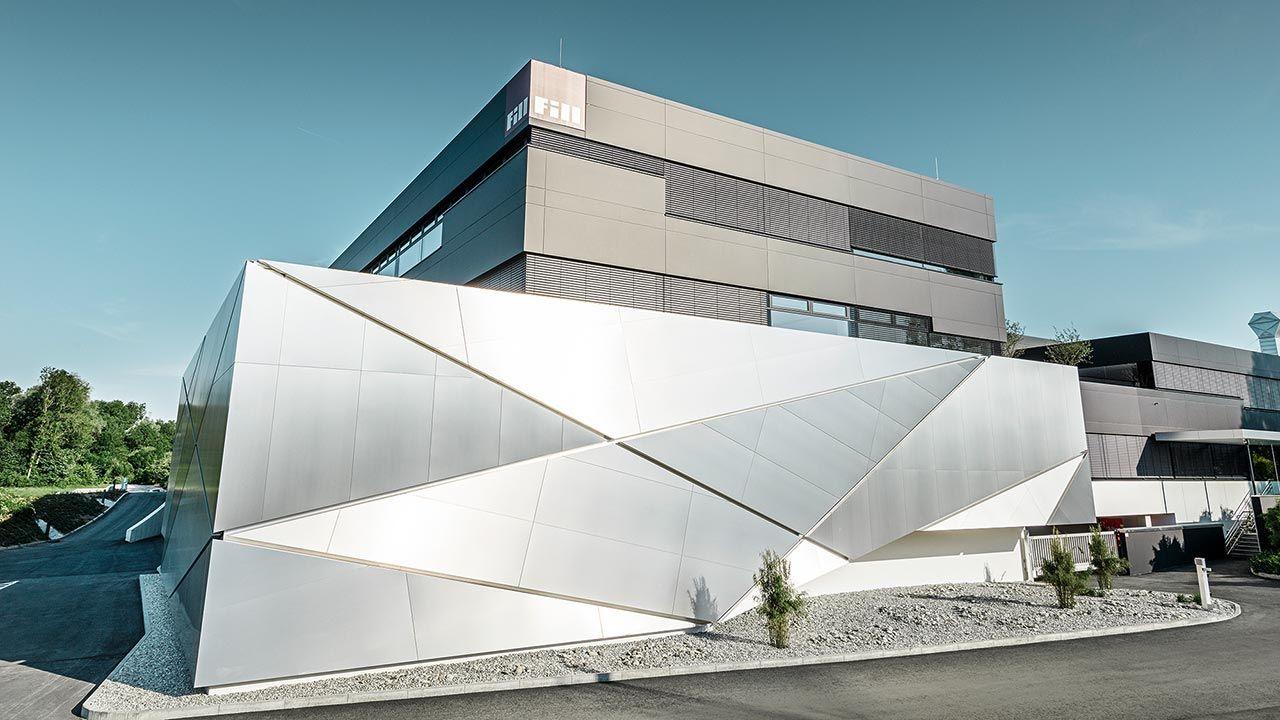 Fill Firmengebaude In Gurten Fassaden Gestaltung