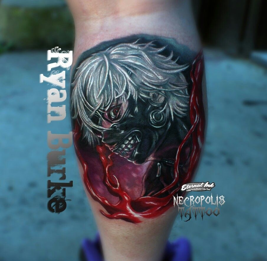 this tattoo is so cool tokyo ghoul kaneki ken my ridiculously awesome anime obsession. Black Bedroom Furniture Sets. Home Design Ideas