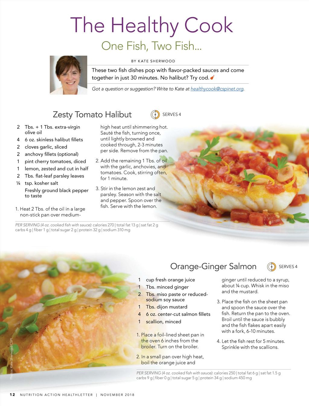 nutrition action november 2018 recipes seafood seafood recipes