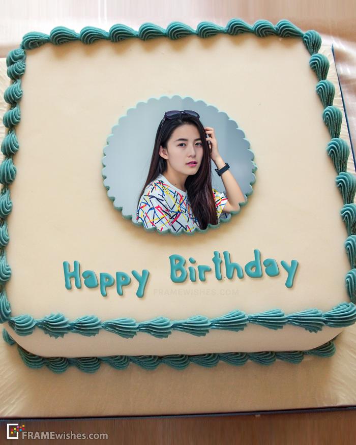 photo frame cake design Pin on Birthday Cake With Photo Frame
